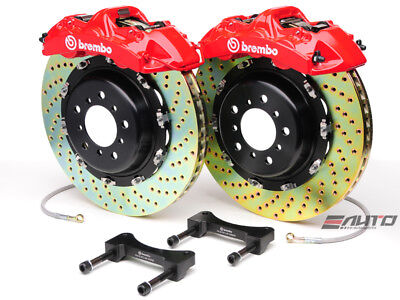 Brembo Rear GT Brake BBK 6pot Red 380x32 Drill Ferrari 360 00-04 F430 05-09
