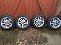 Bmw 3 series alloy wheels & tyres.
