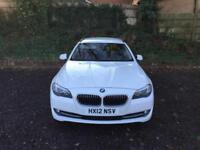 2012 BMW 530D AC AUTOMATIC WHITE