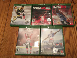 XBox One Sports Games For Sale