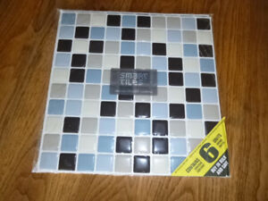 Smart tiles for backsplash