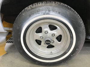Chevy light weight mags and older tires (14)
