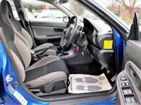 2007 Subaru Impreza 2.5 WRX 4dr Petrol blue Manual