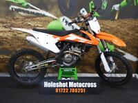 KTM SXF 250 Motocross Bike Electric start Clean 1 Owner Example