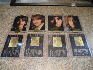 Sportstime 1996 The Beatles Gold Signature Cards