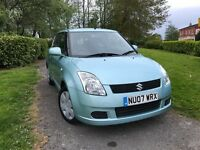 Suzuki Swift 1.3 GL (blue) 2007