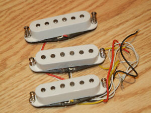 GFS Strat Vintage Alnico single coil electric guitar pickups