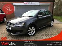 2010/10 Volkswagen Polo 1.4 ( 85ps ) SE 5dr, NEW SERVICE