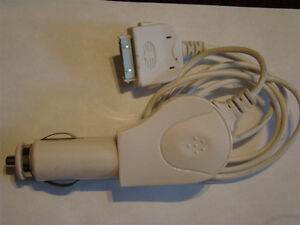 CAR CHARGER CABLE 30 PIN FOR iPHONE 3 4 4S iPOD 3 4 iPAD 2 3