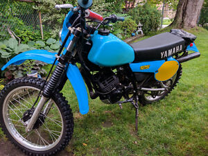 Yamaha IT 125 1981 in great shape, stored for years