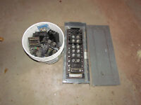 100 Amp electrical fuse panel