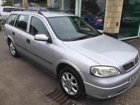 2002 Vauxhall/Opel Astra 1.6i 16v LS very low miles 53k full mot