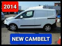 2014 FORD TRANSIT COURIER 1.5 TREND DIESEL ** NEW CAMBELT** READY FOR WORK VAN