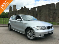 2006 56 BMW 118 2.0i SE 1 Series Silver FSH Low Mileage