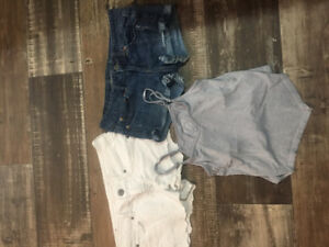 AMERICAN EAGLE shorts and tank. Size 2
