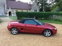 MGF vvc 35,000 miles, hard & soft tops