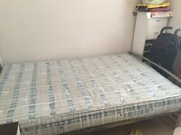 Small double bed firm Orthopaedic mattress