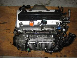 HONDA ACCORD K24A 2.4L DOHC I-VTEC ENGINE JDM K24 MOTOR