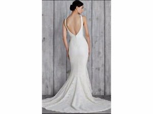 Gorgeous Low Back, V-neck, Nicole Miller -- Janey Gown