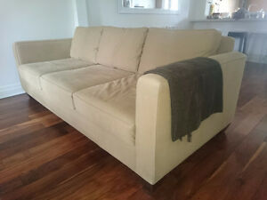 Large, Comfy Custom-Made Couch (Sofa, Chesterfield)