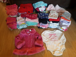Girls Clothes size 0-9 months
