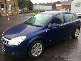 5808Vauxhall Astra 1.4i 16v Breeze Plus Blue 5 Door 56565mls MOT Aug 2017