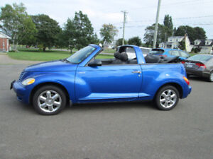 2005 Chrysler PT Cruiser TOURING EDITION 2.4 L TURBO TRADE WELCO