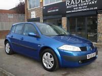 2005 Renault Megane 1.6 VVT 115 Oasis 2005 55 REG PETROL BLUE