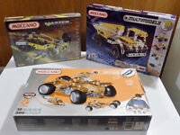 Meccano - Lot of 3 sets - All three for $ 75