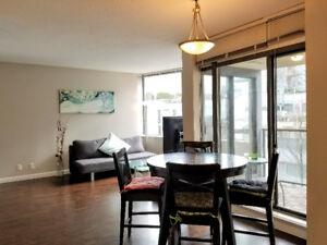 Extra Large one Bedroom plus Den concrete apartment