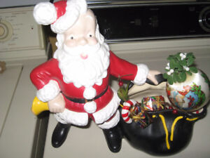 CHRISTMAS SANTA with bag of goodies asking $ 10.00
