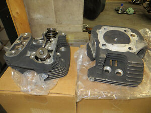 Harley Evolution Heads Rebuilt