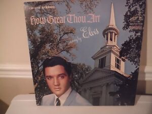 "ELVIS ""HOW GREAT THOU ART"" West Island Greater Montréal image 1"