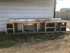 13 ft stainless station