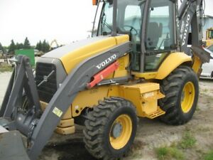 2007 VOLVO BL70 BACKHOE WITH RIDE CONTROL LOW HOURS