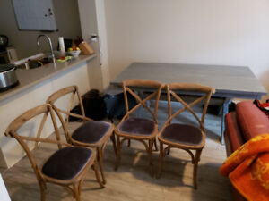 Dining set (Table + 4 Chairs)