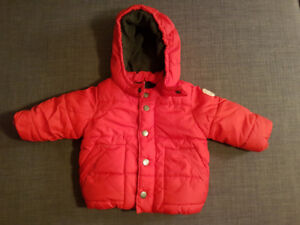 Baby Gap  Red Puffer Jacket (6-12 months)
