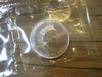Four mint-sealed sheets Silver Maple Leaf Coins 1990 2006 2008