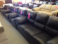 Leather Couch Set – Liquidation Priced - Save 50-75%