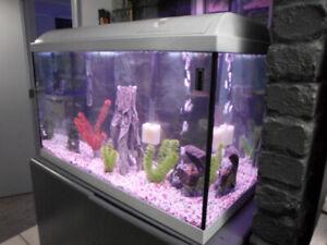 34 gal. white Waterhome Fish Tank (video)