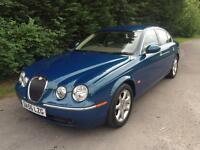 56 REG - JAGUAR S-TYPE 2.7 D V6 TURBO DIESEL AUTOMATIC - FANTASTIC SPEC