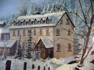 """Hand Signed and Numbered by Peter Robson """"Benmiller Inn"""" 1983 Stratford Kitchener Area image 4"""