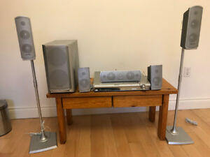 Home Theatre Sound System and DVD Player