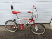 Mk1 Raleigh extra burner Bmx 80's retro bike