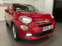 2016 Fiat 500X 1.6 E-Torq Pop Star Plus 5dr SUV Petrol Manual