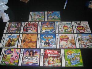 Nintendo  DS Game List