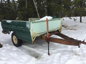 Ford 9 inch Possi rear diff (comes with trailer )