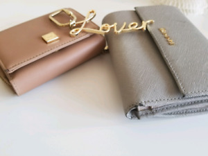 women wallets and keychain