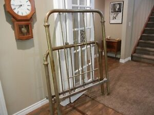 Single size Antique Brass Bed