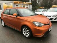2014 MG MG3 1.5 VTi-TECH 3Form Sport 5dr Hatchback Petrol Manual